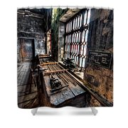 Victorian Workshops Shower Curtain by Adrian Evans
