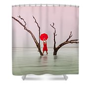 Uncertain Victory Shower Curtain