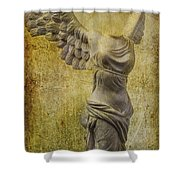 Victory Abstract Shower Curtain