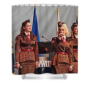 Victory Belles Shower Curtain
