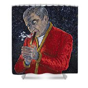Victory Cigar Shower Curtain