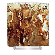 Victory Dance Detail Shower Curtain