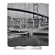 Victory Lane 2 Shower Curtain