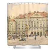 Vienna 1913 Shower Curtain
