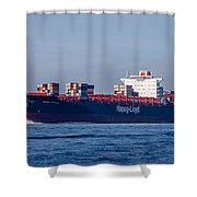 Vienna Express Ship Shower Curtain