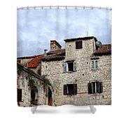 Vies Of Split Croatia Shower Curtain