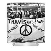 Vietnam War Protesters Shower Curtain