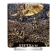 Vietnam 1961-1975 Shower Curtain