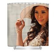 Vietnamese Bride 03 Shower Curtain