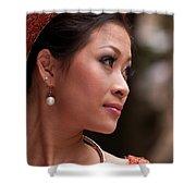 Vietnamese Bride 12 Shower Curtain