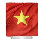 Vietnamese Flag Shower Curtain