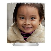 Vietnamese Girl 03 Shower Curtain