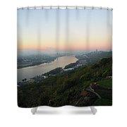 View - East Walnut Hills Shower Curtain