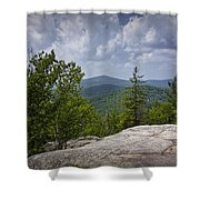 View From A Mountain In A Vermont Shower Curtain