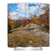 View From Eagle Cliff - Eagle Bay Ny Shower Curtain