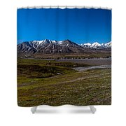 View From Eielson Shower Curtain