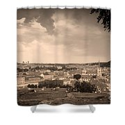 View From Hradcany Of Mala Strana Shower Curtain