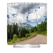 View From Kebler Pass Shower Curtain