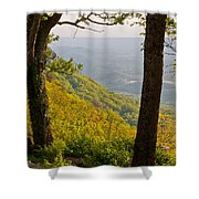 View From Lookout Mountain Shower Curtain