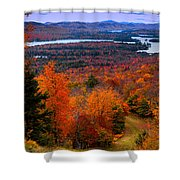 View From Mccauley Mountain II Shower Curtain