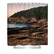 View From Ocean Drive Maine Shower Curtain