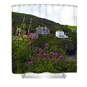 View From Port Isaac Shower Curtain