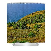 View From Skyline Trail In Cape Breton Highlands Np-ns Shower Curtain