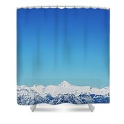 View From Sulphur Mountain Shower Curtain