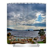 View From The Balcony Suite - Sagamore Resort Shower Curtain