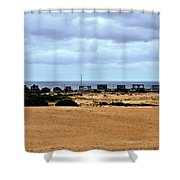 View From The Dunes Shower Curtain