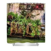 View From The Grand Canal China Shower Curtain