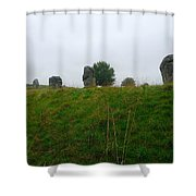 View From The Henge Shower Curtain