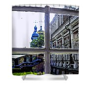 View From The Novodevichy Convent - Russia Shower Curtain