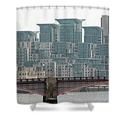 View From Westminster Bridge Shower Curtain