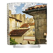View In Cognac Shower Curtain