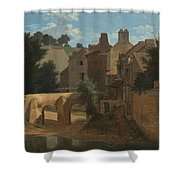 View In The Ile-de-france Shower Curtain