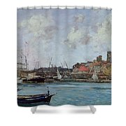 View Of Antibes Shower Curtain