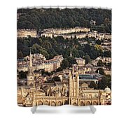 View Of Bath England Shower Curtain