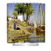 View Of Cairo Shower Curtain
