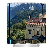 View Of Castles Shower Curtain