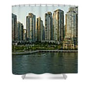 View Of False Creek And Granville Shower Curtain