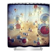 View Of H2o Shower Curtain