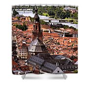 View Of Heidelberg Shower Curtain