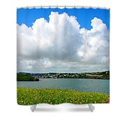 View Of Kinsale Shower Curtain