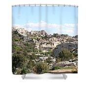 View Of Les Baux De Provence Shower Curtain