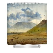 View Of Marathon Shower Curtain