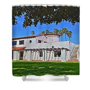 View Of Ole Hanson Beach Club San Clemente Shower Curtain