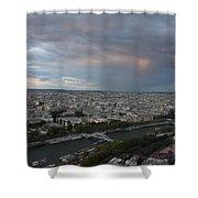 View Of Paris Shower Curtain