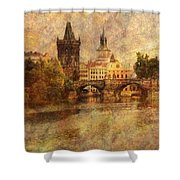 View Of Prague Shower Curtain