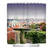 View Of Prague Shower Curtain